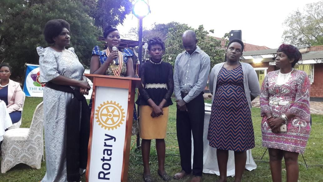Rotaract Kampala North Installation